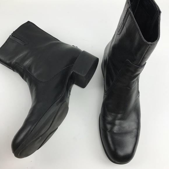 39a7850d2eb Etienne Aigner Black Ankle Boots Booties, size 7.5